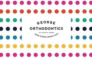 George Orthodontics Logo Brand Designer Kelly Gold Featured Image