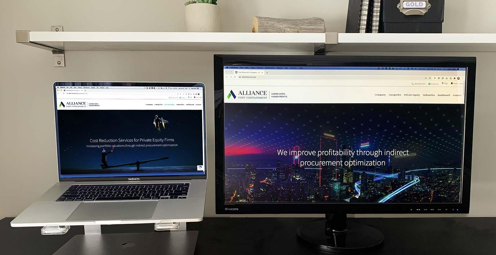ACC Dual Monitor Desk Gold Creative Design-1600px