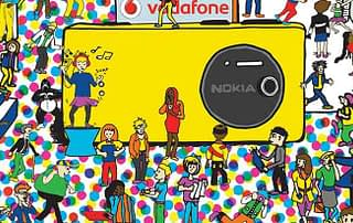 Nokia Illustration by Creative Director Kelly Gold