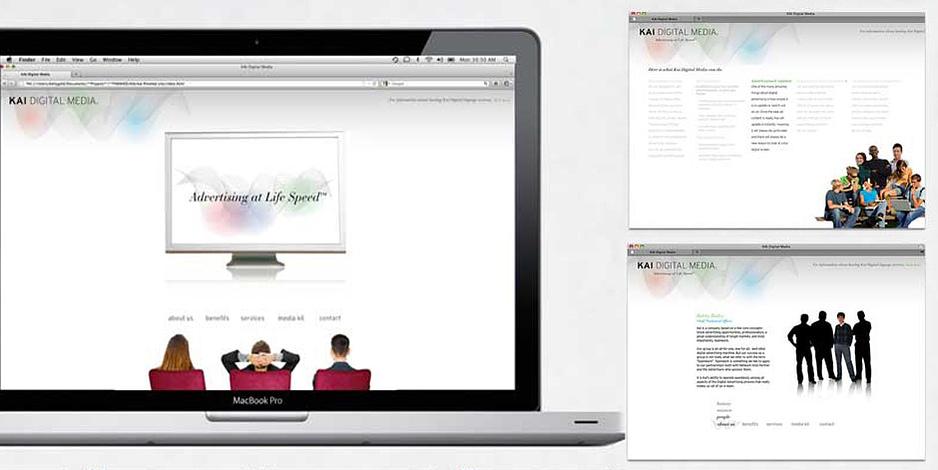 Kai Digital Media Website