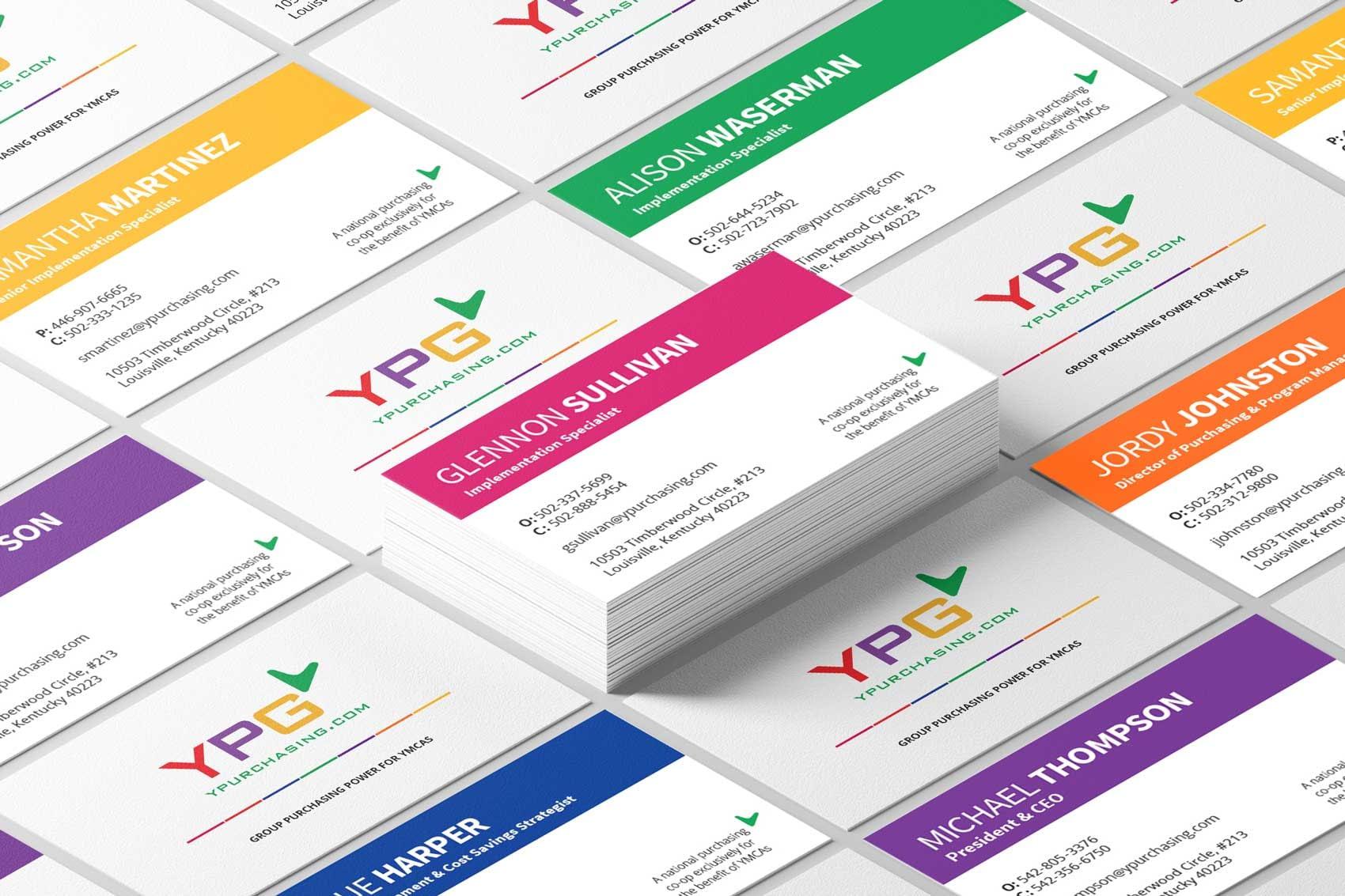 Business card brand design - Louisville, KY