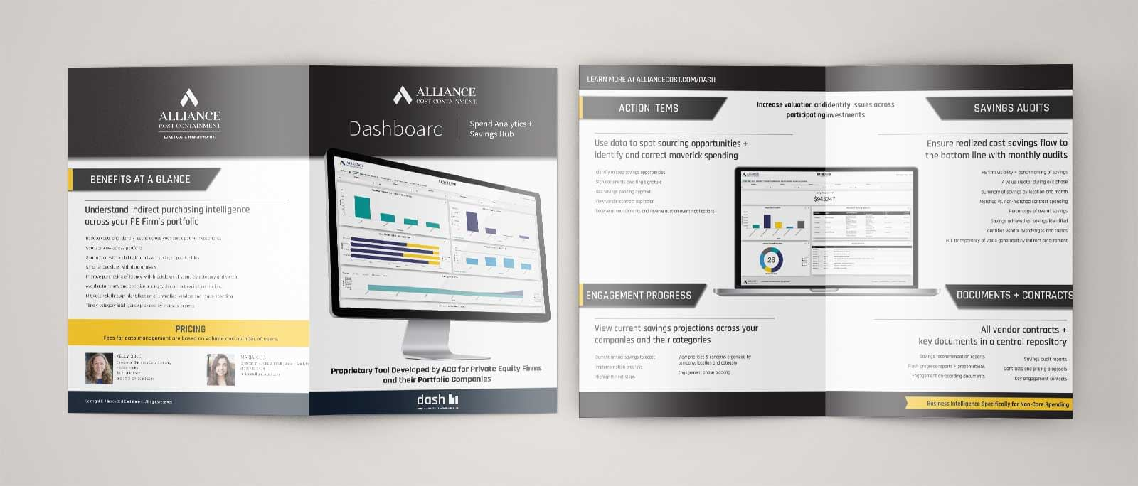 UX UI Brochure for National Conference