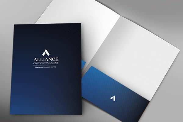 Folder Design ACC Art Direction by Gold Creative Design