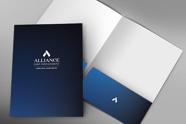 Folder Design ACC Art Direction by Gold Creative Design